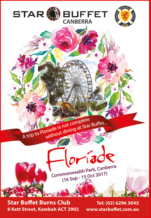 CANBERRA FLORIADE COMING SOON!