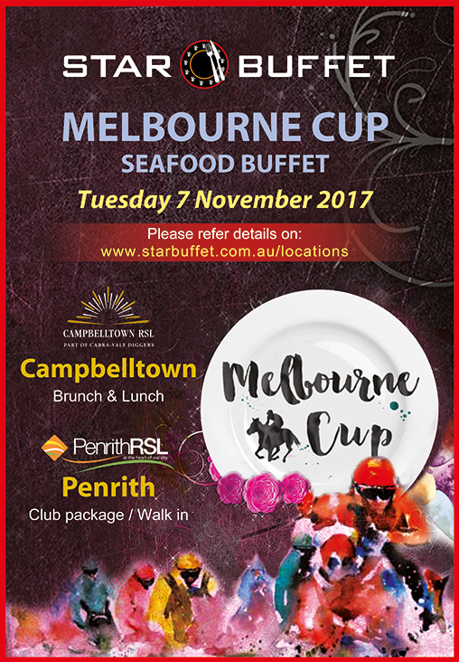 CELEBRATE MELBOURNE CUP AT STAR BUFFET CAMPBELLTOWN & PENRITH
