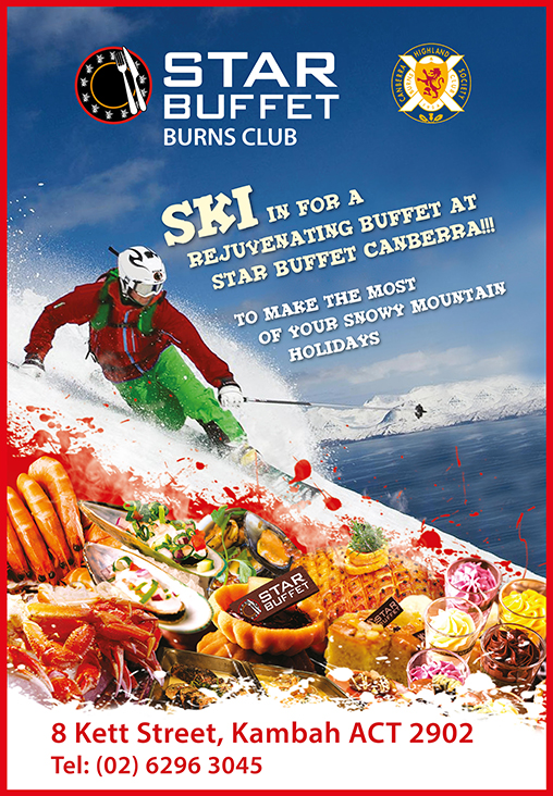 SKI IN TO STAR BUFFET CANBERRA TO RECHARGE