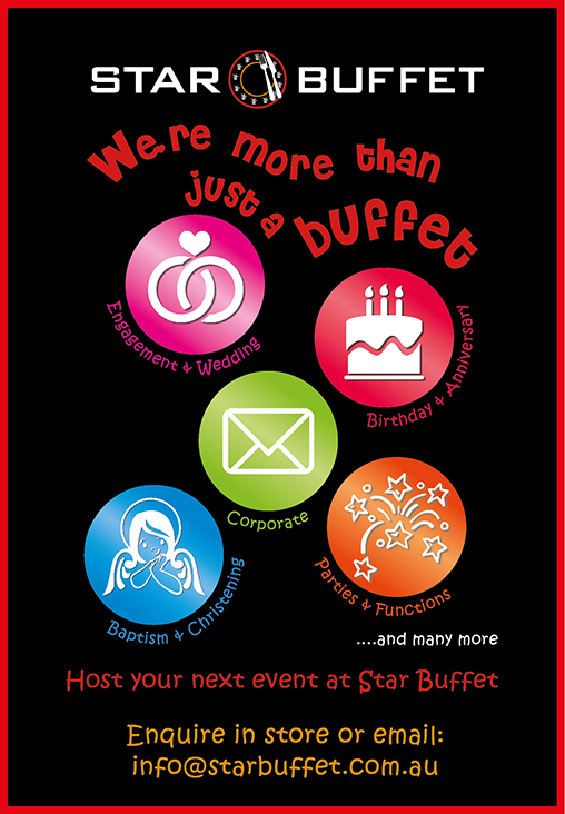 STAR BUFFET HELPS CELEBRATE YOUR BIG EVENT