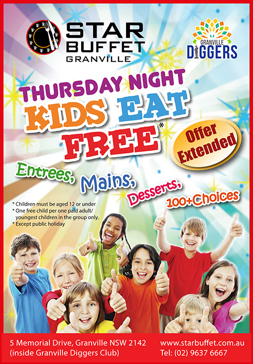 STAR BUFFET GRANVILLE - THURS NIGHT KIDS EAT FREE